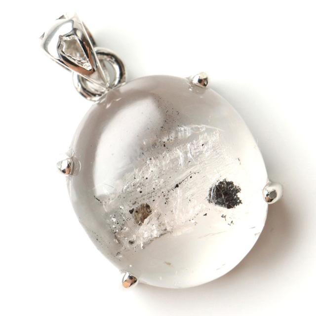 水入り水晶 ペンダント Silver953 最古の水を閉じ込めた水晶 パワーストーン 天然石