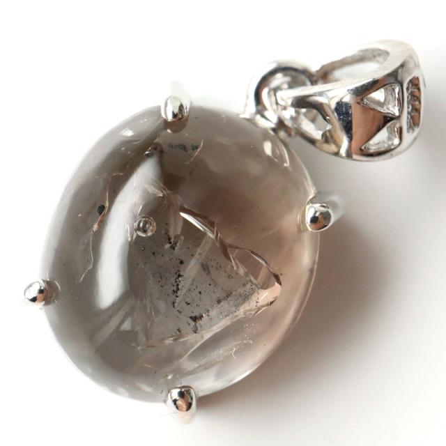 水入り水晶 ペンダント Silver989 最古の水を閉じ込めた水晶 パワーストーン 天然石