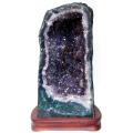 アメジスト ドーム 約12kg 紫水晶 ジオード 晶洞 天然石 ブラジル産 1点物 台座付き