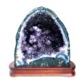アメジスト ドーム 約9.2kg 紫水晶 ジオード 晶洞 天然石 ブラジル産 1点物 台座付き