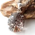 ガーデンクォーツ 庭園 水晶 ペンダント 1点物 Silver925 自然の芸術