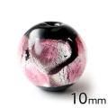 ホタルガラス ピンク 10mm 粒売り 1粒 とんぼ玉 桃色 沖縄 お土産