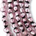 ホタルガラス 一連 ビーズ 6mm 66玉 ピンク とんぼ玉 沖縄 人気 お土産 送料無料 母の日