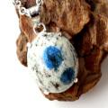 K2ブルー ペンダント Silver925 カラコルム山脈産 天然石 パワーストーン