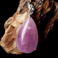 ピンク クンツァイト ペンダント AA 高品質リチア輝石 Silver925 1点もの