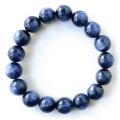 カイヤナイト ブレスレット メンズ レディース ブラジル産 藍晶石 1点もの 天然石 パワーストーン
