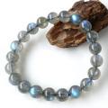 ラブラドライト ブレスレット ブルーに輝くシラー  天然石 パワーストーン