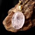 モルガナイト ペンダント Silver925 チェーン付き 1点物 天然石 パワーストーン