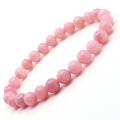 ピンクオパール ブレスレット レディース 8mm 10月 誕生石 天然石 パワーストーン 1点物