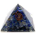 ラピスラズリ オルゴナイトピラミッド 大人気スピリチュアルグッズ 幅約55mm前後