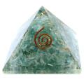 フローライト オルゴナイトピラミッド 大人気スピリチュアルグッズ 幅約55mm前後
