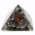 ラブラドライト オルゴナイトピラミッド 大人気スピリチュアルグッズ 幅約55mm前後