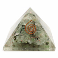 プレナイト オルゴナイトピラミッド 大人気スピリチュアルグッズ 幅約55mm前後