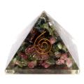 トルマリン オルゴナイトピラミッド 大人気スピリチュアルグッズ 幅約55mm前後