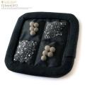 テラヘルツ鉱石 6N さざれ× 北投石 セラミックボール入り 枕パッド ミニサイズ 腰など患部にも使用可能 健康グッズ 父の日