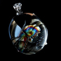 アイリスクォーツ 虹入り 水晶 ペンダント高品質 Silver925 チェーン付き