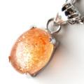サンストーン 高品質 ペンダント Silver925 1点物 天然石