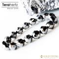 テラヘルツ鉱石 ブレスレット メンズ レディース 12mm スターカット 高純度 パワーストーン