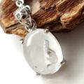 水入り水晶 ペンダント Silver1013 最古の水を閉じ込めた水晶 パワーストーン 天然石