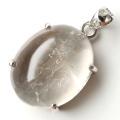 水入り水晶 ペンダント Silver1025 最古の水を閉じ込めた水晶 パワーストーン 天然石