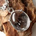 水入り水晶 ペンダント Silver1091 最古の水を閉じ込めた水晶 パワーストーン 天然石