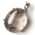 水入り水晶 ペンダント Silver965 最古の水を閉じ込めた水晶 パワーストーン 天然石