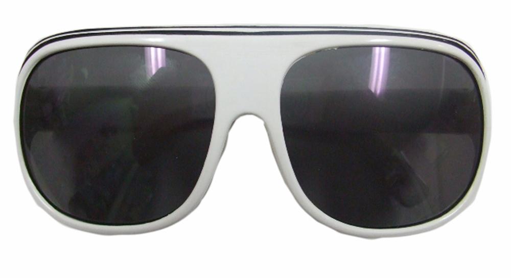 幼児用UVカットサングラス シルバーフレーム 2~6歳 ポリカーボネイド