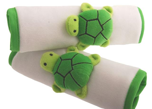 アニマル カーシート ストラップカバー(カメ)[Animal Strap Cover /Turtle]