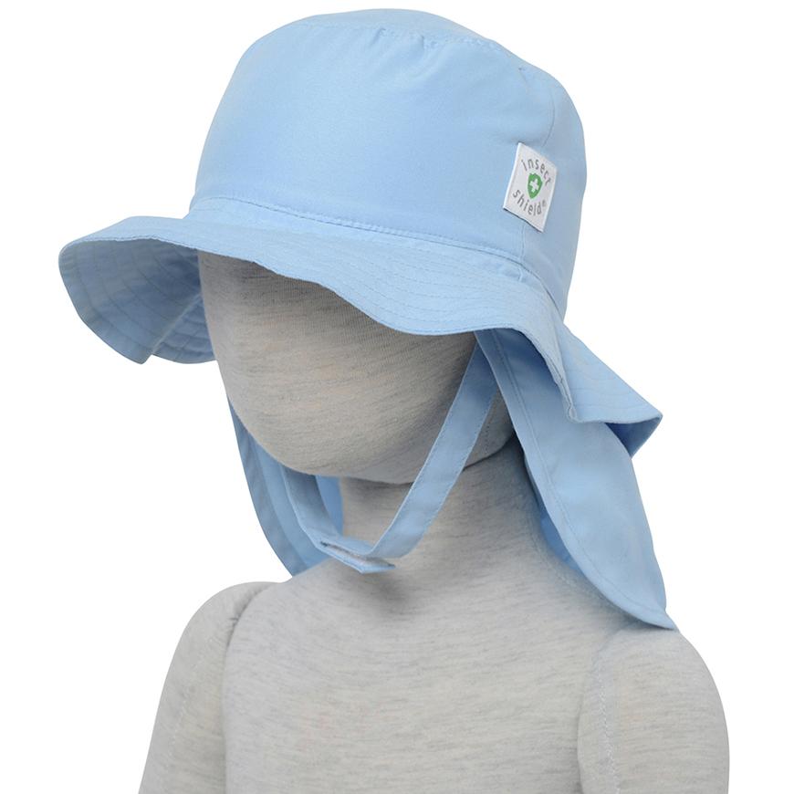 インセクトシールド (Insect Shield) 虫よけ ベビー帽子, ブルー44cm, ポリエステル