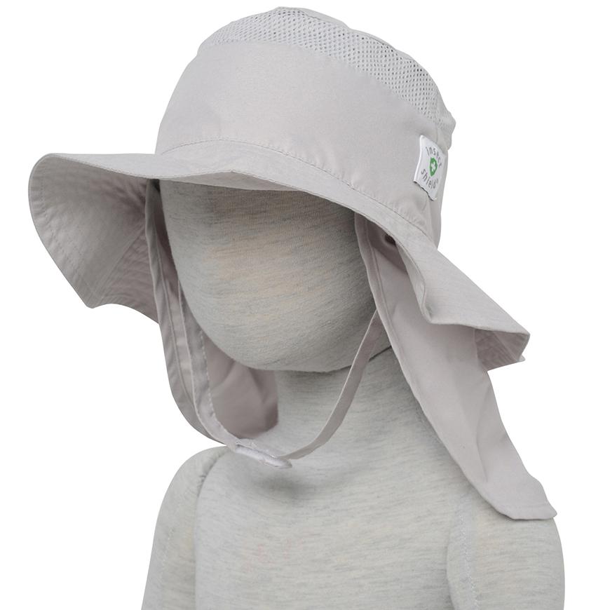 インセクトシールド (Insect Shield) 虫よけ 幼児帽子, グレー52cm, ポリエステル