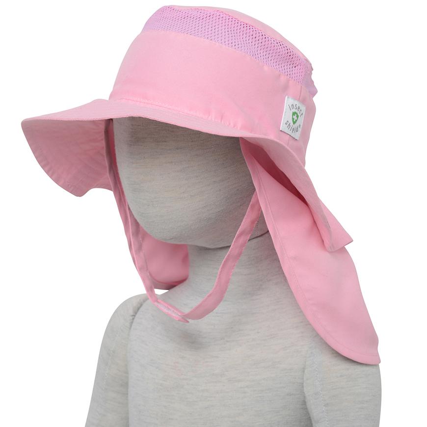 インセクトシールド (Insect Shield) 虫よけ 幼児帽子, ピンク48cm, ポリエステル