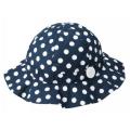 ガール帽子 水玉 50cm