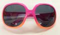 幼児用UVカットサングラス ピンクフレーム 2~6歳 ポリカーボネイド