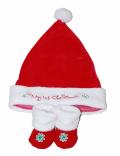 クリスマス ハット&ブーティーセット