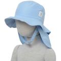インセクトシールド (Insect Shield) 虫よけ ベビー帽子, ブルー46cm, ポリエステル