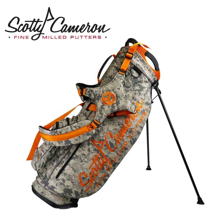 スコッティキャメロン 2013 DIGI-CAMO STAND BAG スタンドキャディバッグ 9インチ カモフラ/オレンジ