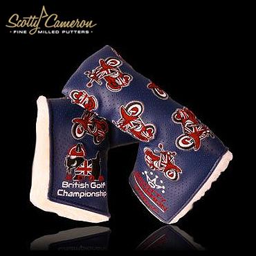 スコッティキャメロン 2009 British Golf Championship Scooter Scotty Dog パターカバー【限定販売品】【送料無料】【即納】