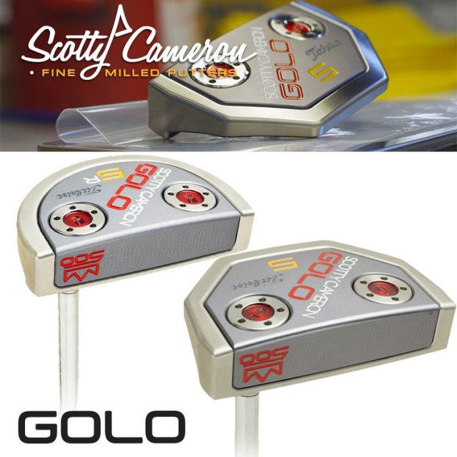 スコッティキャメロン GOLOシリーズ ファーストラン(1st of 500)パター34インチ 500本限定モデル[SCOTTY CAMERON GOLO SERIES FIRST RUN]【送料無料】【残り1本】