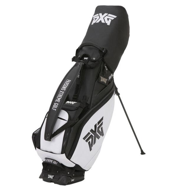 【予約販売】PXG 2020 Hybrid Stand Bag ブラック/ホワイト