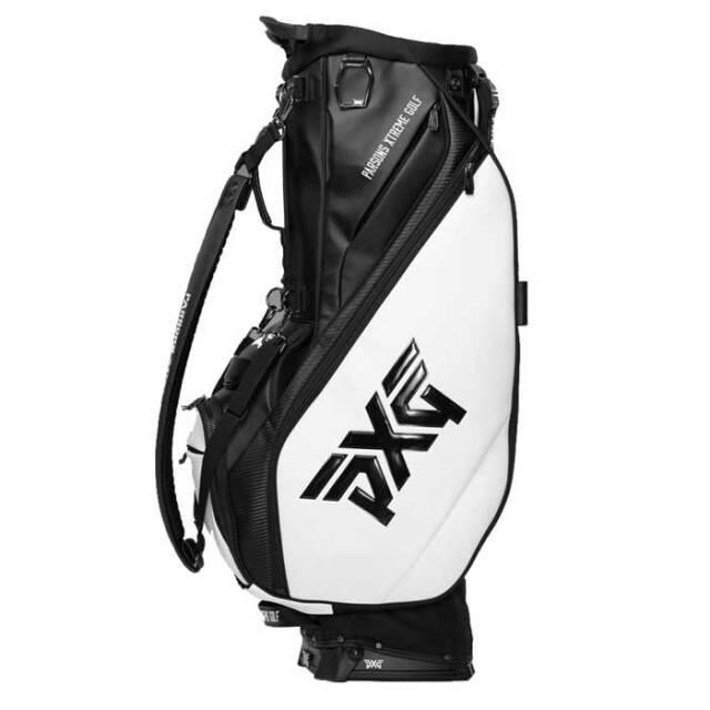 PXG 2020 Hybrid Stand Bag ブラック/ホワイト