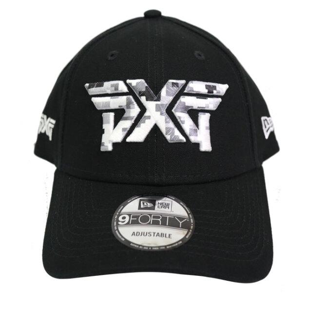 PXG NE940 Camo Logo Cap ブラック