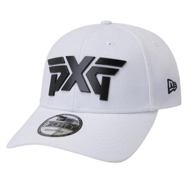 PXG NE940 Metal Logo Cap ホワイト