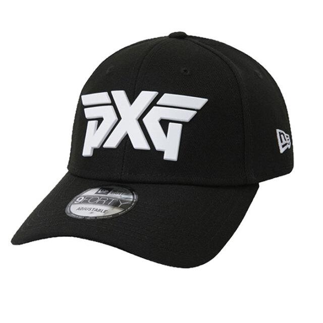 PXG NE940 Metal Logo Cap ブラック
