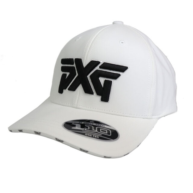 PXG Double Visor Logo Cap ホワイト