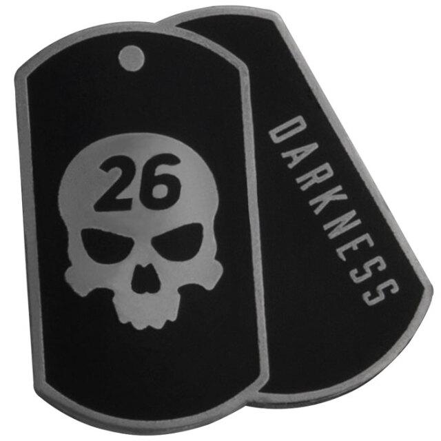 PXG Darkness Dog Tag Ball Marker