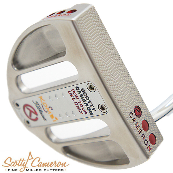 SCOTTY CAMERON KOMBI-S TOUR MID SSS SOLE ENGRAVED CIRCLE-T スコッティキャメロン 40インチ パター【証明書付き】【ツアーパター】【サークルT】