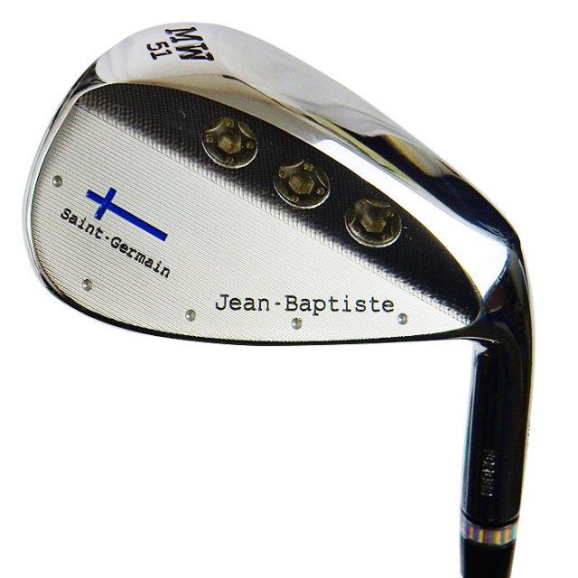 【日本正規販売店】Jean-Baptiste ジャン・バティスト JB502MW セミフラットフェース クロームメッキ  【ヘッドのみ】