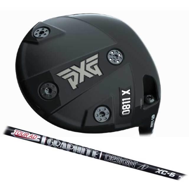 【数量限定】PXG 0811 X Prototype ドライバー  Tour AD XC  グラファイトデザイン ツアーAD XC シャフト