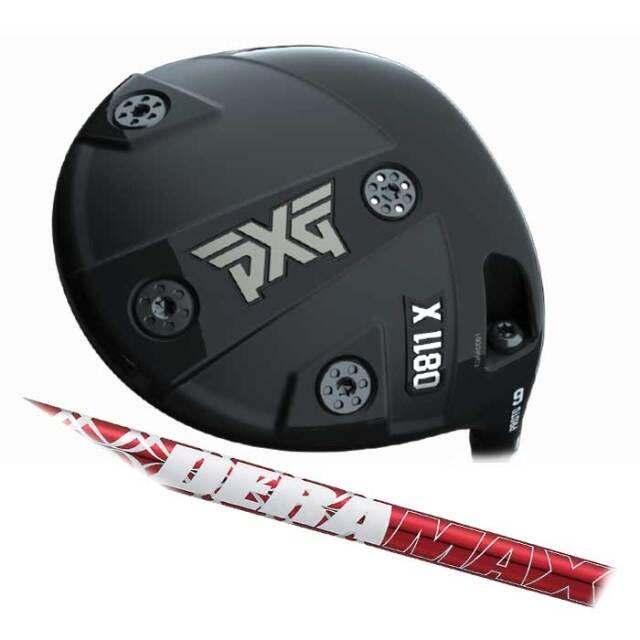 【数量限定】PXG 0811 X Prototype ドライバー  DERA MAX 020 Premium series オリムピック デラマックス 020 プレミアムシリーズ  シャフト