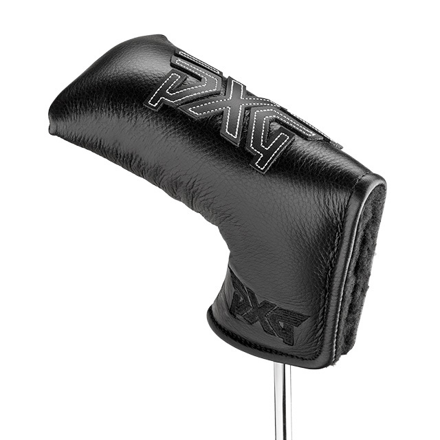 PXG Lifted Leather Blade Cover レザーブレード ヘッドカバー ブラック(PT用)